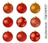 realistic christmas baubles....