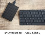 Stylish Black Wireless Keyboar...