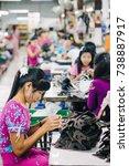 kanchanaburi  thailand   july... | Shutterstock . vector #738887917