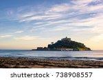 saint michael's mount | Shutterstock . vector #738908557
