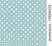 dot pattern on indigo... | Shutterstock .eps vector #739044103