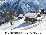 braunwald  switzerland | Shutterstock . vector #739075873