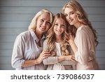 beautiful women generation ... | Shutterstock . vector #739086037