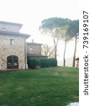 italian villa   Shutterstock . vector #739169107