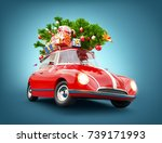 unusual 3d illustration of a... | Shutterstock . vector #739171993
