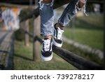 milan  italy   september 28 ... | Shutterstock . vector #739278217