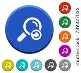undo search round color beveled ... | Shutterstock .eps vector #739327033