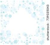spades shaped frame or border... | Shutterstock .eps vector #739335043