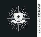 coffee vintage logo   Shutterstock .eps vector #739346347