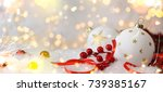 christmas holiday background | Shutterstock . vector #739385167