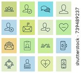 social icons set. collection of ...