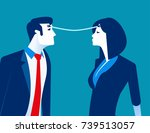 connection. business person... | Shutterstock .eps vector #739513057