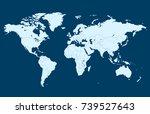 world map | Shutterstock .eps vector #739527643
