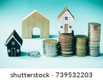 saving money to invest in a...   Shutterstock . vector #739532203