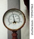 Old Rusty Gauge Indicator