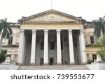 british residency  hyderabad ... | Shutterstock . vector #739553677