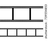film strip | Shutterstock .eps vector #739554853