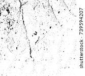 grunge black white. monochrome... | Shutterstock .eps vector #739594207