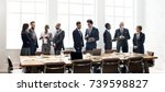 diverse business shoot  | Shutterstock . vector #739598827