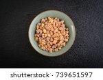 frankincense resin crystals in... | Shutterstock . vector #739651597