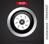 car break icon | Shutterstock .eps vector #739655437