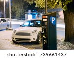 parking machine near parking at ...