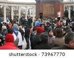 vienna   6 march  demonstration