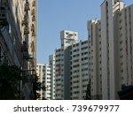 apartment in korea | Shutterstock . vector #739679977