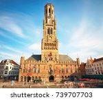 The Belfry Tower Of Bruges  Or...