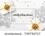 christmas background with gifts ...