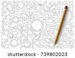 Hand Drawn Set Of Arrows Vecto...