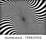 vector abstract lines pattern.... | Shutterstock .eps vector #739815553