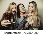 life style  happiness ... | Shutterstock . vector #739864207