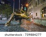 new york usa. 8 31 17  ... | Shutterstock . vector #739884277