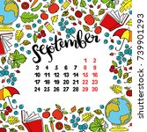 calendar month abstract