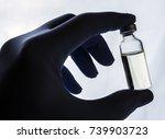 detail of hand medical holding... | Shutterstock . vector #739903723