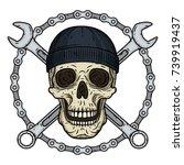 vector illustration of human...   Shutterstock .eps vector #739919437