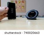 bangkok  thailand   19 october... | Shutterstock . vector #740020663