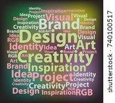 text cloud. design wordcloud....   Shutterstock .eps vector #740100517
