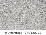 grey plaster background ...   Shutterstock . vector #740120773