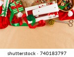 Diy Christmas Hobby Background...