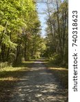 Small photo of The Great Allegheny Passage, a rail trail, at Myersdale, Pennsylvania, USA