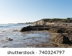 isla vista  california beaches | Shutterstock . vector #740324797