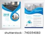 template vector design for... | Shutterstock .eps vector #740354083