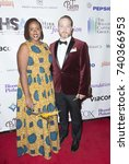 Small photo of New York, NY - October 23, 2017: Amanda Stephen (L) attends Harlem School of the Arts Masquerade Ball at The Plaza Hotel