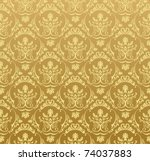 Gold Background. Seamless...