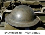 A British Helmet Of World War...