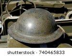 A British Helmet Of World War...
