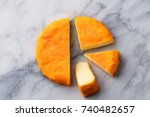 Cheese With Washed Orange Rind...