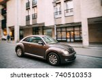 vilnius  lithuania   september... | Shutterstock . vector #740510353
